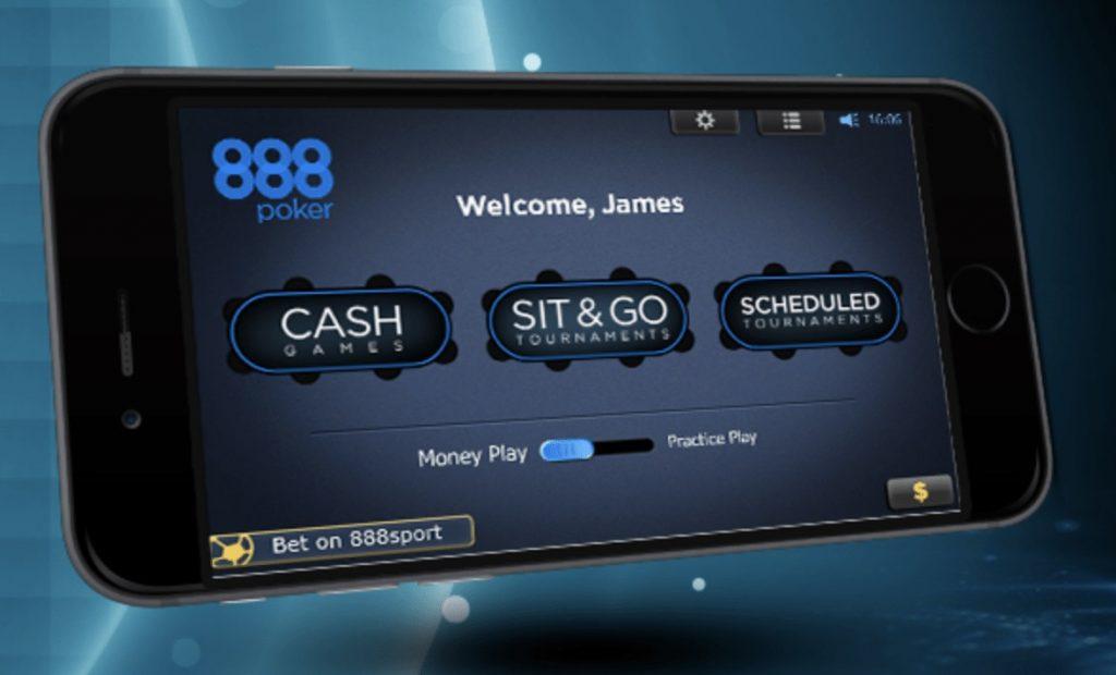 мобильный софт 888 покер